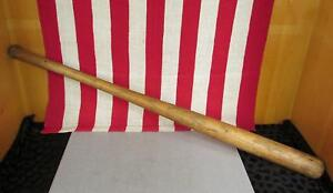 "Vintage Indiana Bat Co. Wood Baseball Bat Hoosier Pride No.26 Paoli,Indiana 33"""