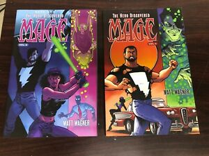 Lot 1-2 The Hero Discovered MAGE TPB/Graphic Novels NM IMAGE Matt Wagner NICE!!!