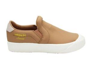 ADIDAS Everyn Slipon W Sneakers Brown White CQ2061