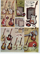 1966 PAPER AD 3 PG Kay Electric Guitar Gregory Amplifier Drum Sets