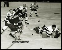 1963 WHL San Francisco Seals vs Los Angeles Game Action 8 X 10 Photo Picture