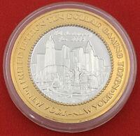 Casino Strike 2005 New York Token .999 Silver Las Vegas $10 20-2935F
