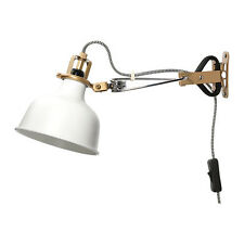 IKEA RANARP WALL/CLAMP SPOTLIGHT,OFF WHITE,IS LIGHTWEIGHT AND EASY TO MOVE