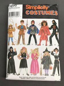 Vintage CHILD HALLOWEEN COSTUME PATTERN - Children Child's Clothing LOT02