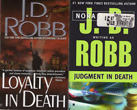 Set Lot of 4 Nora Roberts J.D. Robb In Death Series # 9-12 Loyalty Witness
