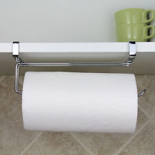 Wall Mounted Under Shelf Cabinet Kitchen Roll Holder Paper Towel Dispenser Wniu
