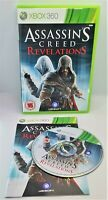 Assassin's Creed: Revelations Video Game for Xbox 360 PAL TESTED