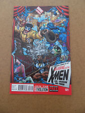 Wolverine & The X-Men (vol 1) 21 . Marvel 2013 . VF - minus