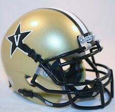 VANDERBILT COMMODORES (GOLD) Schutt XP Mini Helmet