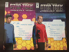 Star Trek: Boldly Go #2, 5 IDW Subscription Variant NM (9.4) or Better Unread