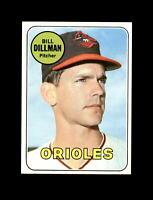 1969 Topps Baseball #141 Bill Dillman (Orioles) NM
