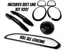 MINI F56 F57 One, Cooper, S JCW Full De Chrome Black Out Kit Cover KILLALLCHROME