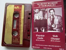Frankie Carle / Bob Chester and Orchestra Big Band Era Franklin Mint Cassette