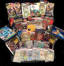 Pokemon Box - Sealed Items Only, Triple Pack,tins,booster Packs, Blister