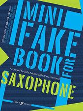 Mini Fake Book For Saxophone Adams, S & Hampton, A Saxophone And Piano Albums