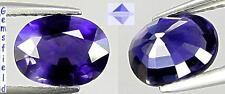 VS !!! 1.08ct IOLITE de Madagascar - Lumineux bleu mauvé / purplish blue - AAA++