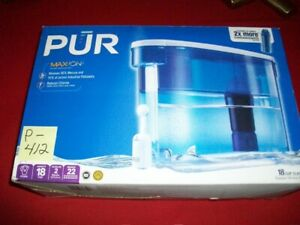 NEW PUR 18 CUP WATER DISPENSER FILTRATION SYSTEM WITH MAXION FILTER TECHNOLOGY