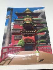 Spirited Away Clear File Studio Ghibli 2001
