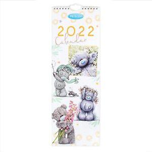 2022 Month To View Me to You Tatty Teddy Cute Slim Flip Wall Calendar
