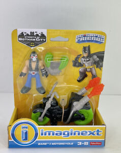 IMAGINEXT DC SUPER FRIENDS 2018 STREETS OF GOTHAM BANE & MOTORCYCLE