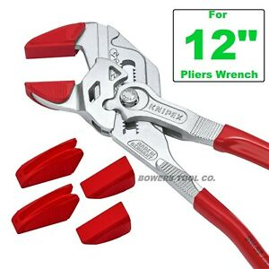 """Knipex Protective Jaw Covers for 8603300 Series 12"""" Pliers Wrench 3 Pair 8609300"""