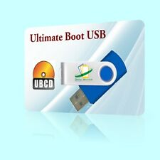 Ultimate RESCUE USB BOOT RESTORE FORMAT DISK HARDDRIVE DIAGNOSTICS ANTI-VIRUS
