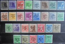 ALLIED OCCUPATION 1948 Soviet Zone Collection of 28 m/h