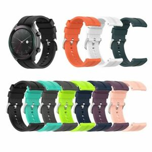 Sport Replacement Silicone Band Wrist Strap for Huawei Watch GT 42mm