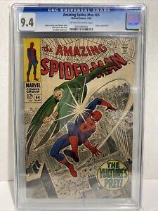 the amazing spiderman #64 CGC 9.4