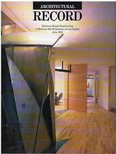 rivista - THE ARCHITECTURAL RECORD ANNO 1989 GIUGNO