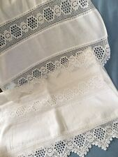 More details for heavy white cotton pillowcases beautiful 15.5