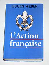 L'ACTION FRANCAISE Mouvement monarchiste d'extrême droite C. Maurras La Cagoule