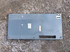 """Allen Bradley Centerline Motor Control Bucket blank door, 32.5"""""""