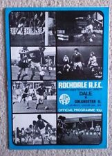 Written-on Division 3 Teams O-R Football Programmes