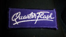 Quarterflash Vintage Embroidered Patch- New Condition