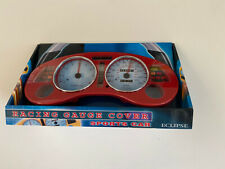 1995-1999 Mitsubishi Eclipse Gauge Cover Red