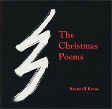 Krandall Kraus~THE CHRISTMAS POEMS~SIGNED 1ST/DJ~NICE COPY