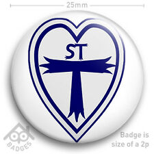 "St Trinians Logo Schoolgirl School Girl FANCY DRESS School Disco 25mm 1"" Badge"