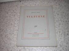 1928.vulturne / Léon-Paul Fargue.envoi autographe.ex. sur pur fil.Bon ex
