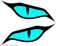 Custom Monster Evil Blue Eyes #3 Vinyl Decal Stickers