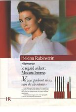 PUBLICITE ADVERTISING  1986  HELENA RUBINSTEIN cosmétiques mascara