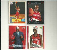 (4) GREG ODEN RC LOT 07-98 ULTRA LUCKY 13 + TOPPS VARIATION UD SANTA HAT