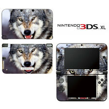 Vinyl Skin Decal Cover for Nintendo 3DS XL LL - Wolf