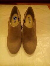 New Michael Kors Heels Women's Boots SZ 8.5 Gray Leather
