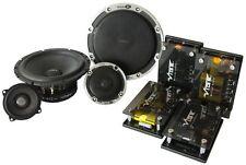 Vibe BlackAir 6C Black Edition 3 Way Concentric Component Speaker Set 130W RMS