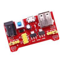 3,3 V 5V Steckbrett Stromversorgungsmodul fuer MB102 Solderless Breadboard F2V1