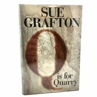 1st Edition/1st Printing SIGNED Fine/Fine Q is For Quarry Sue Grafton