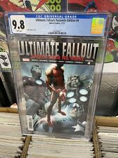 Ultimate Fallout #4 Facsimile CGC 9.8 1st Miles Morales New 🎥 🔥 Investment!