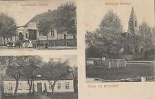 34321 - Gruss aus Heinersdorf mit Gashof im Landkreis Oder - Spree 1912