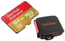 SanDisk Extreme 64GB microSDXC inkl Kartenbox ! micro SDXC Class 10 UHS-3 90Mb/s